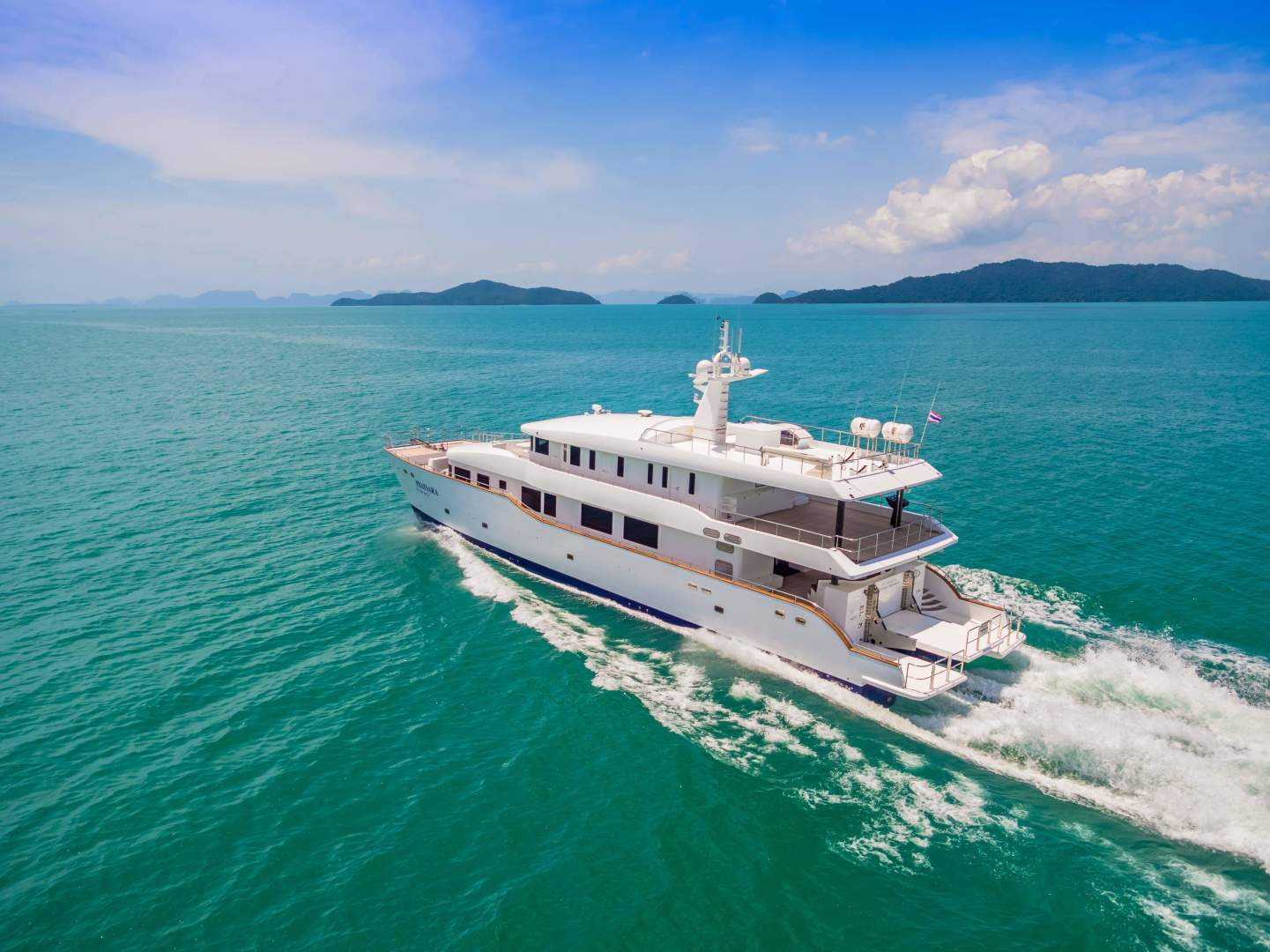Custom-Incat Crowther 37M Power Catamaran 2012-Phatsara Phuket-Thailand-Phatsara -Incat Crowther Power Catamaran for sale-1121049 | Thumbnail
