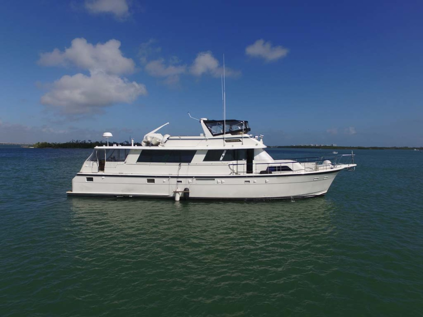 Hatteras-74 Motor Yacht 1981-Pleasurizer Fort Pierce-Florida-United States-Profile-1122237 | Thumbnail