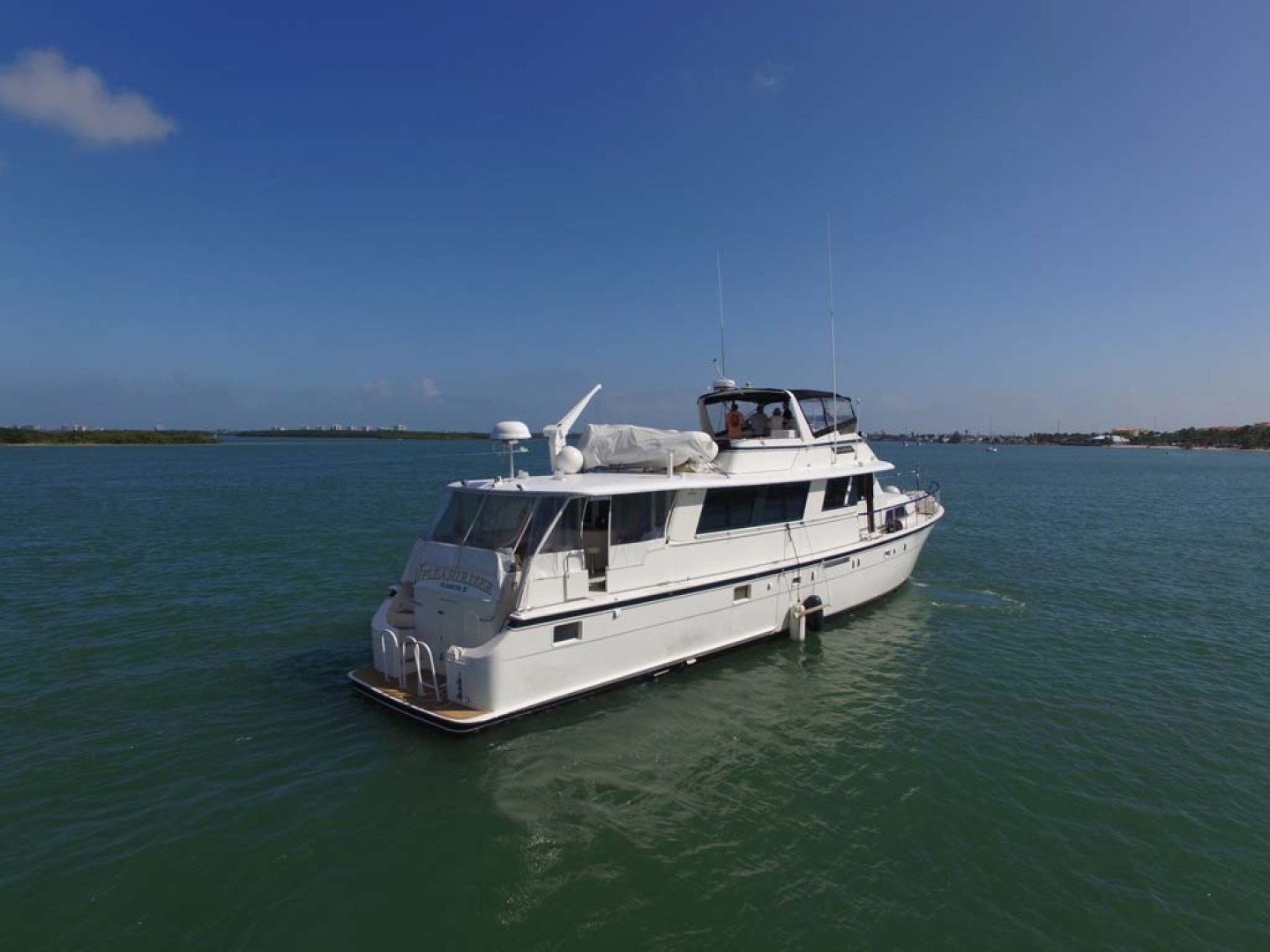 Hatteras-74 Motor Yacht 1981-Pleasurizer Fort Pierce-Florida-United States-Starboard Aft-1122238 | Thumbnail