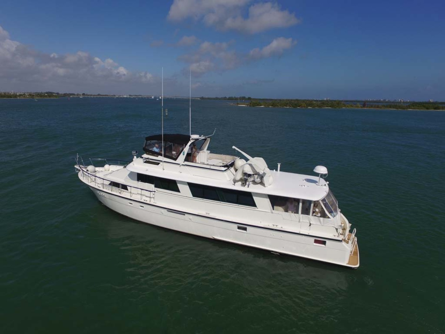 Hatteras-74 Motor Yacht 1981-Pleasurizer Fort Pierce-Florida-United States-Port Side-1122242 | Thumbnail