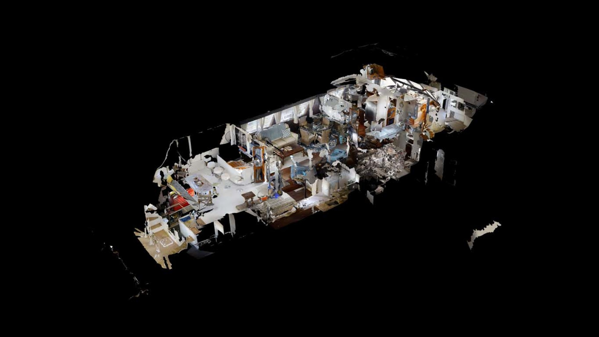 Hatteras-74 Motor Yacht 1981-Pleasurizer Fort Pierce-Florida-United States-Cutaway-1122279 | Thumbnail