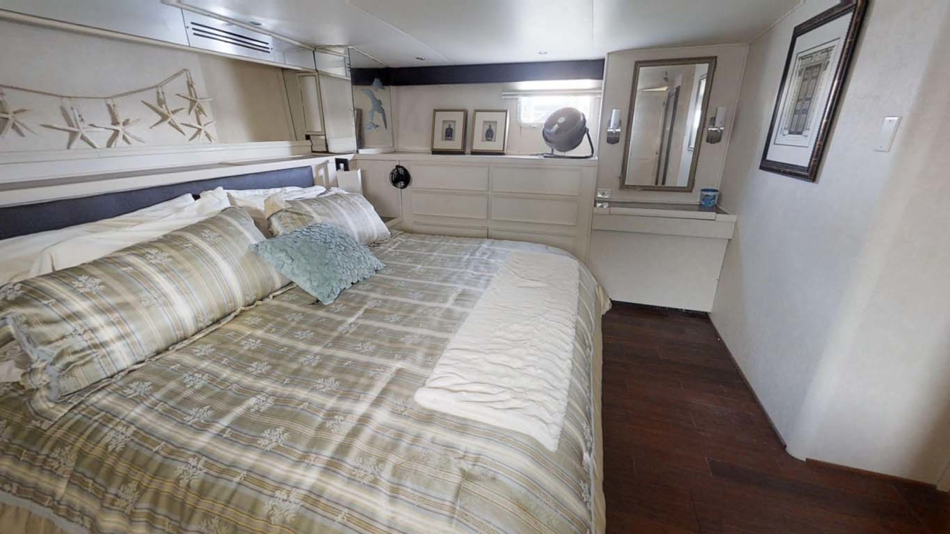 Hatteras-74 Motor Yacht 1981-Pleasurizer Fort Pierce-Florida-United States-Master Stateroom-1122259 | Thumbnail