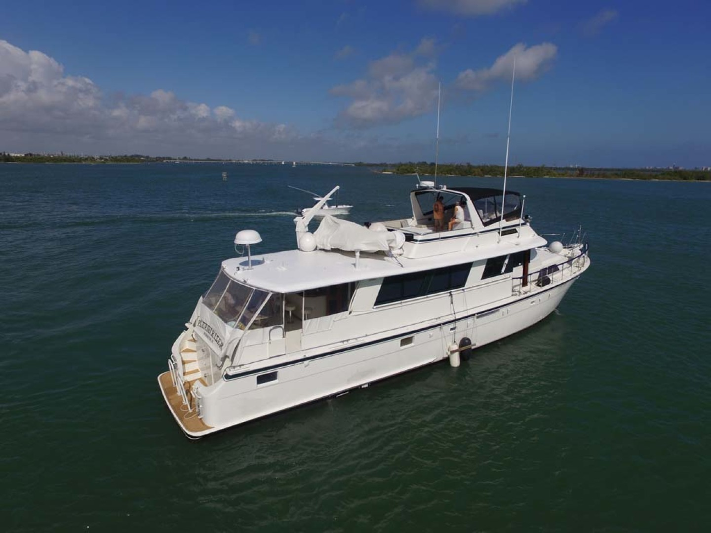 Hatteras-74 Motor Yacht 1981-Pleasurizer Fort Pierce-Florida-United States-Starboard Side-1122240 | Thumbnail