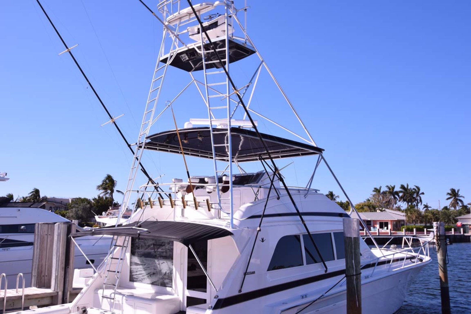 Bertram-60 Convertible 1998-CHARDAN Lighthouse Point-Florida-United States-Tuna Tower-1122642 | Thumbnail