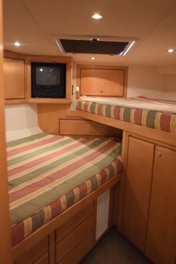 Bertram-60 Convertible 1998-CHARDAN Lighthouse Point-Florida-United States-V-Berth Bunk Stateroom-1122723 | Thumbnail
