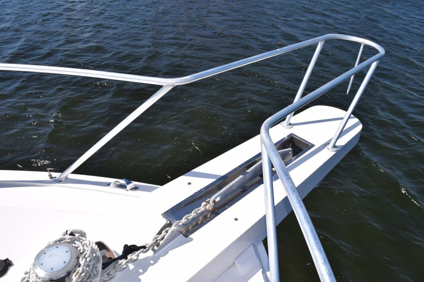 Bertram-60 Convertible 1998-CHARDAN Lighthouse Point-Florida-United States-Bow Windlass and Anchor Chain-1122649 | Thumbnail