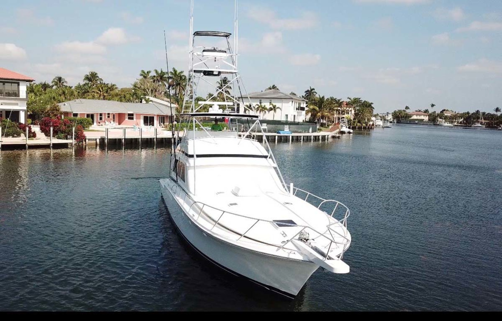 Bertram-60 Convertible 1998-CHARDAN Lighthouse Point-Florida-United States-Bow View-1124639 | Thumbnail