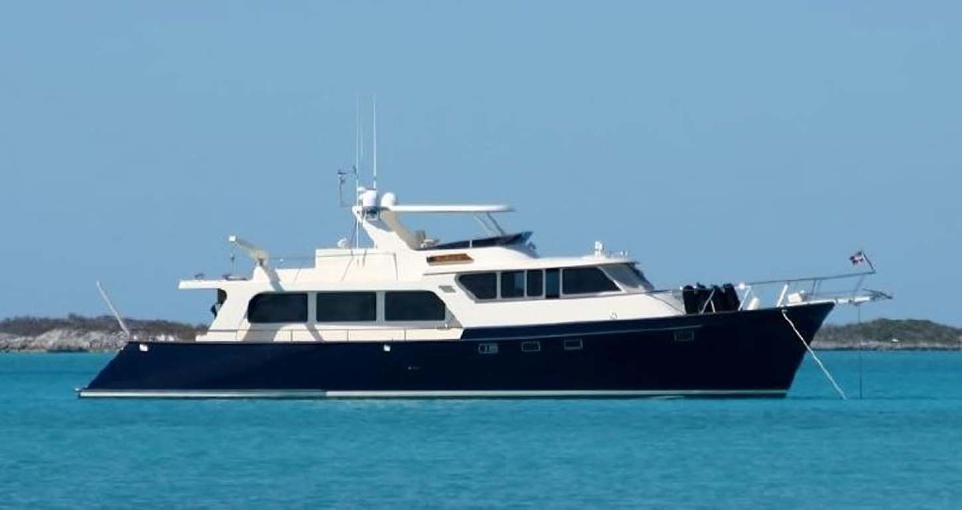 Marlow-70E Explorer 2004-Bluebonnet Sarasota-Florida-United States-At Anchor-1129294 | Thumbnail