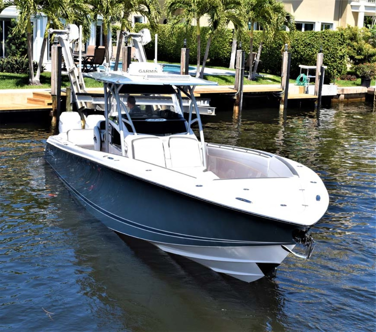 Nor-Tech-390 Sport 2018 -Boca Raton-Florida-United States-Stbd Bow-1130597 | Thumbnail