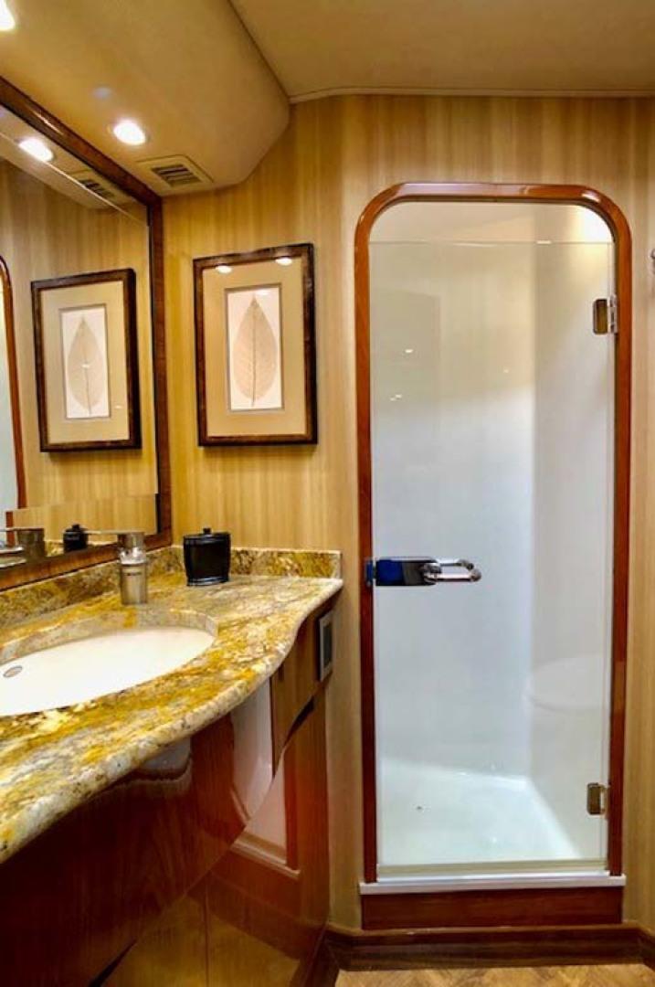 Viking-Enclosed Bridge 2012-Aldente Destin-Florida-United States-Master Shower-1130927 | Thumbnail