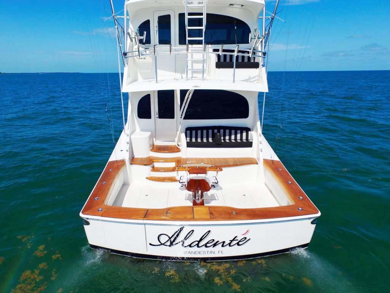 Viking-Enclosed Bridge 2012-Aldente Destin-Florida-United States-Stern View-1130917 | Thumbnail