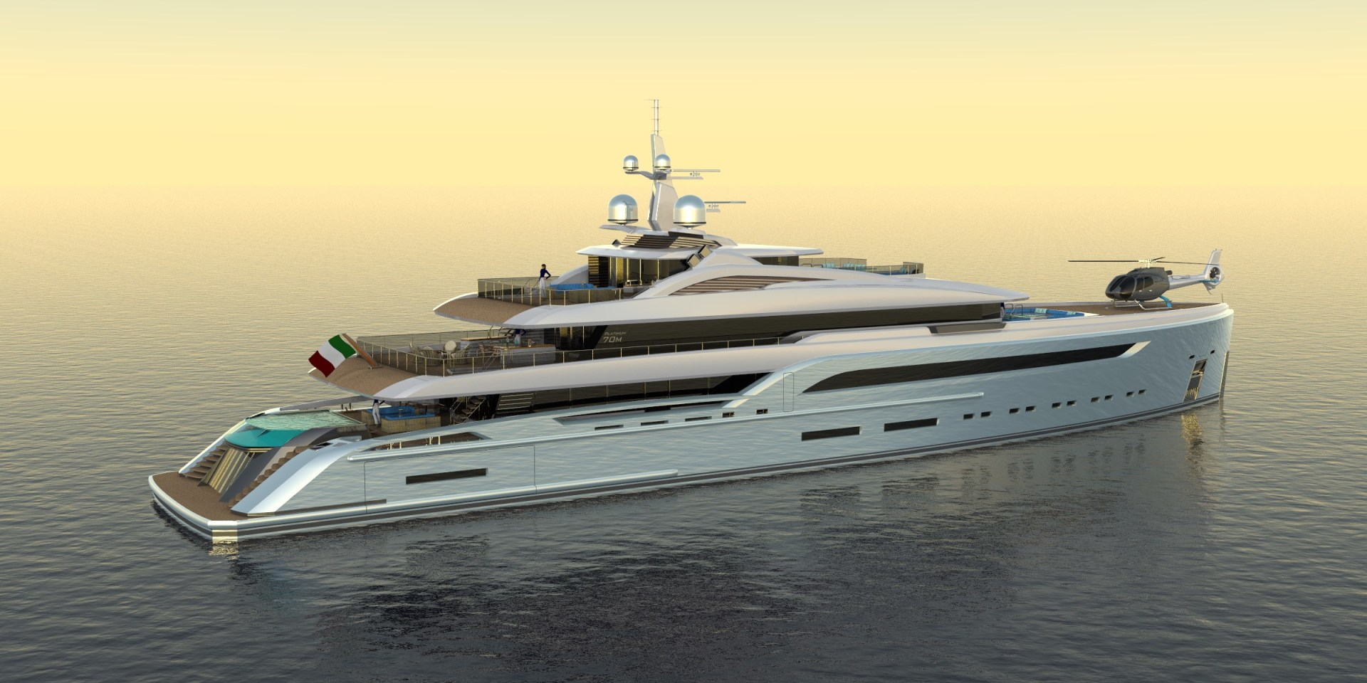 Picture Of a 2023 Custom 230 Preferred Builder - Fincantieri Yachts Motor Yachts | 1132208