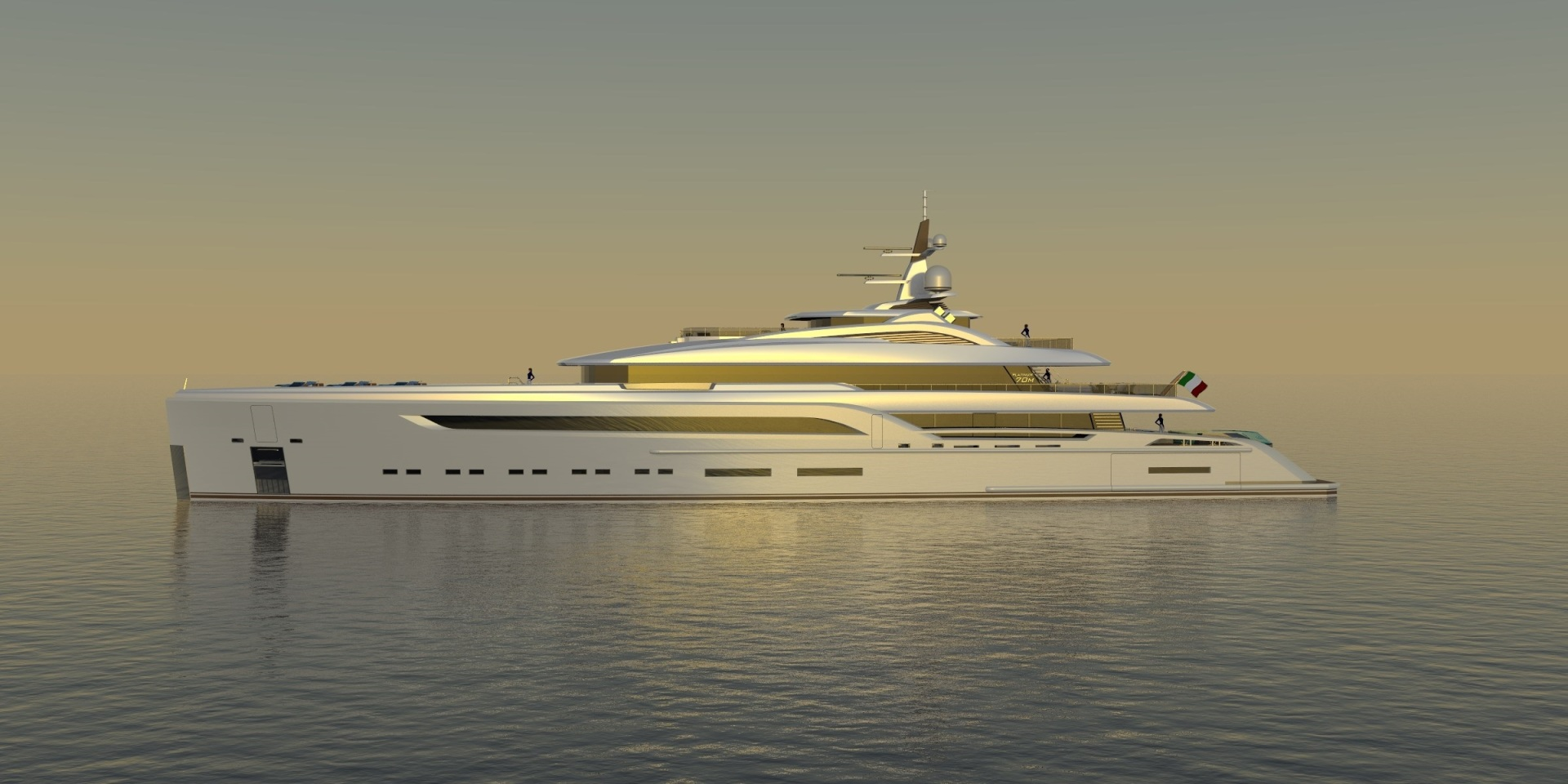 Picture Of a 2023 Custom 230 Preferred Builder - Fincantieri Yachts Motor Yachts | 1132220
