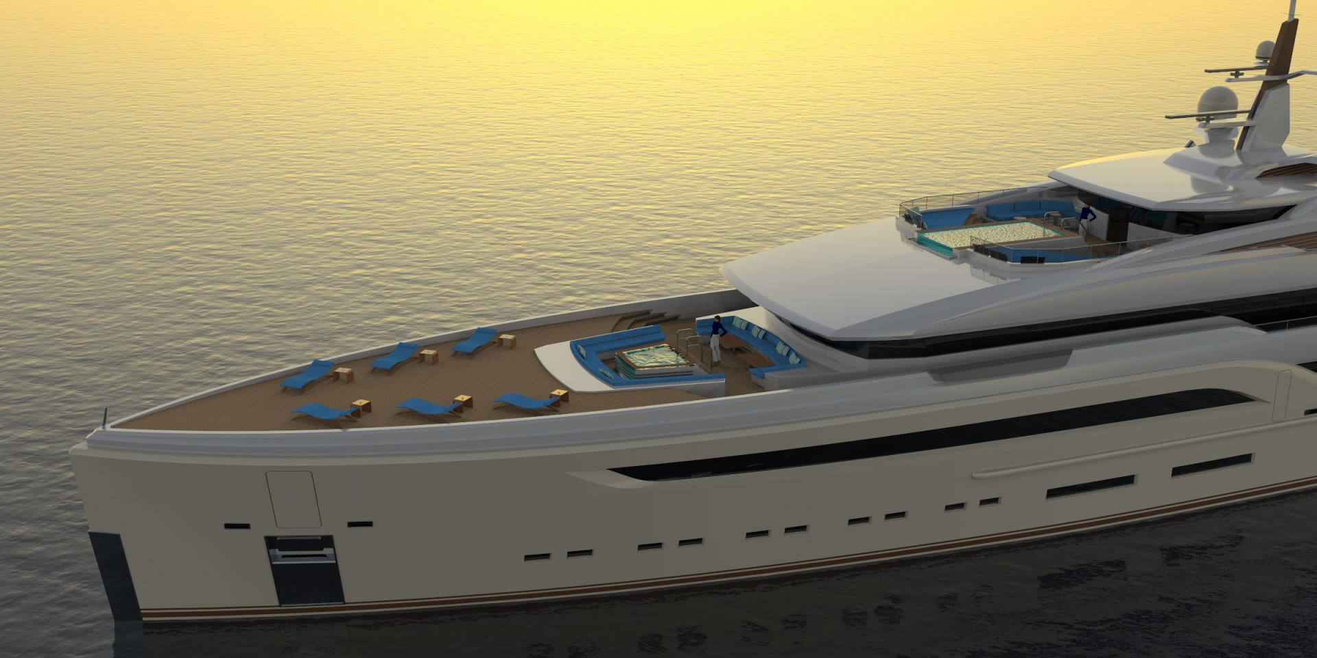 Picture Of a 2023 Custom 230 Preferred Builder - Fincantieri Yachts Motor Yachts | 1132219