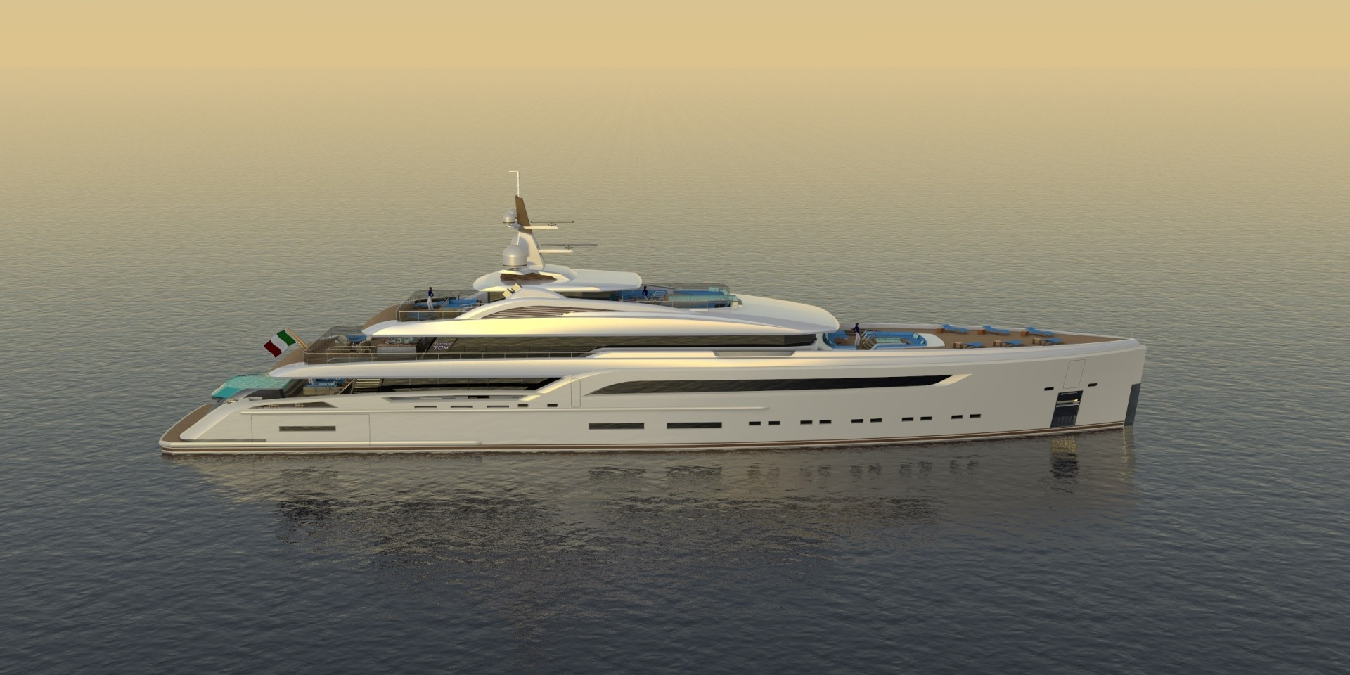 Picture Of a 2023 Custom 230 Preferred Builder - Fincantieri Yachts Motor Yachts | 1132218