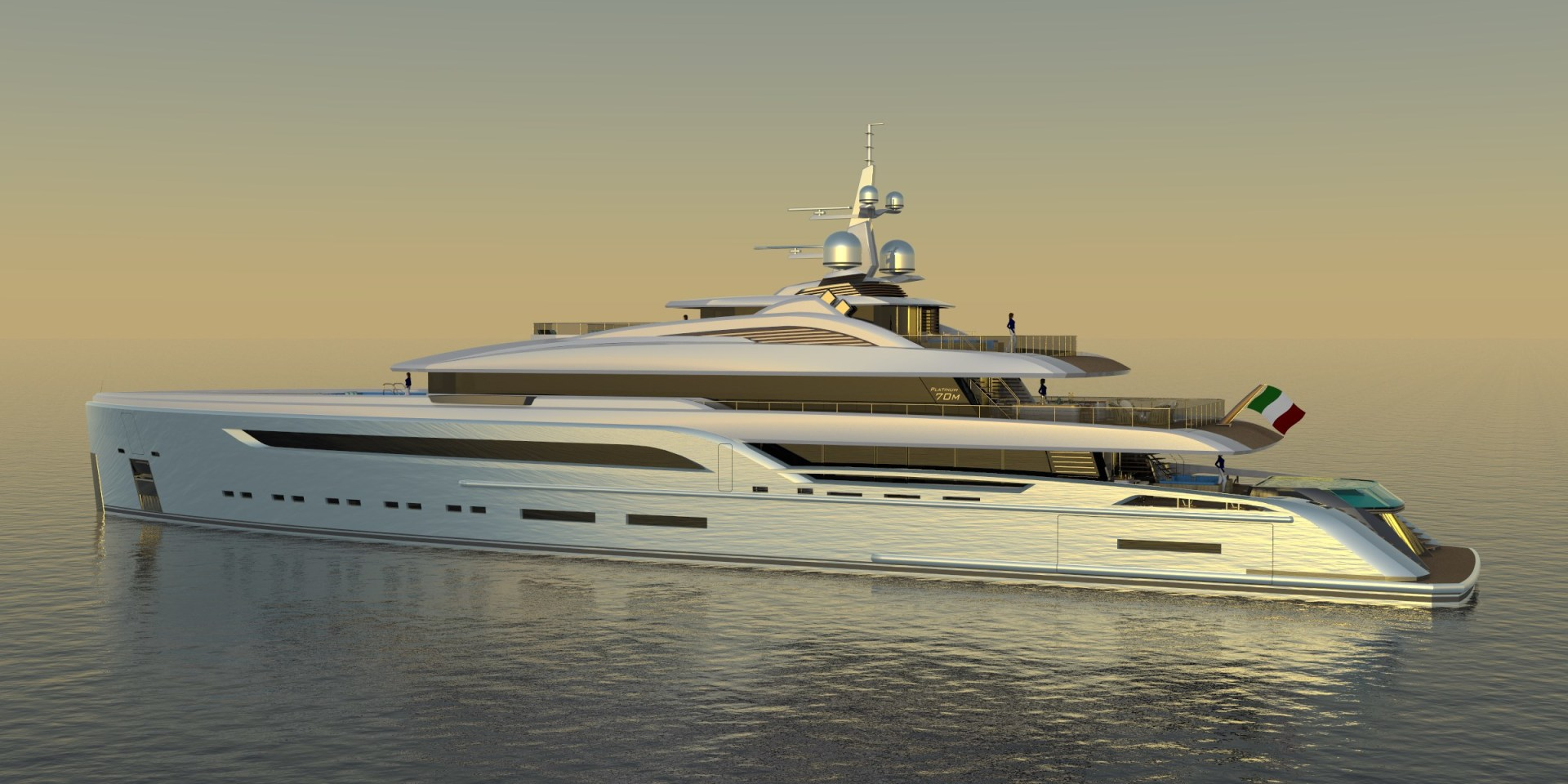 Picture Of a 2023 Custom 230 Preferred Builder - Fincantieri Yachts Motor Yachts | 1132206