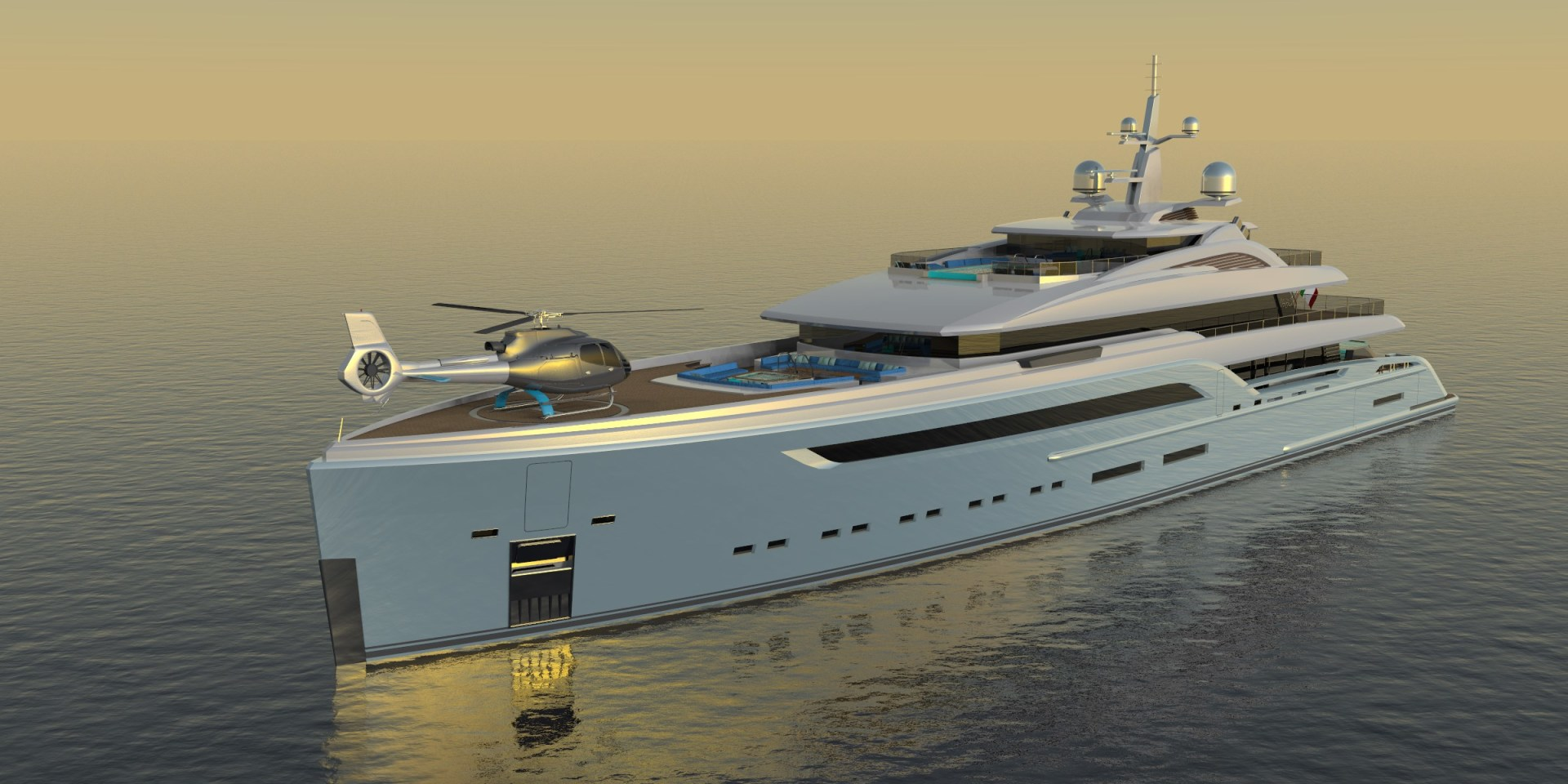 "2023 Custom 230' Preferred Builder - Fincantieri Yachts ""PLATINUM X"""