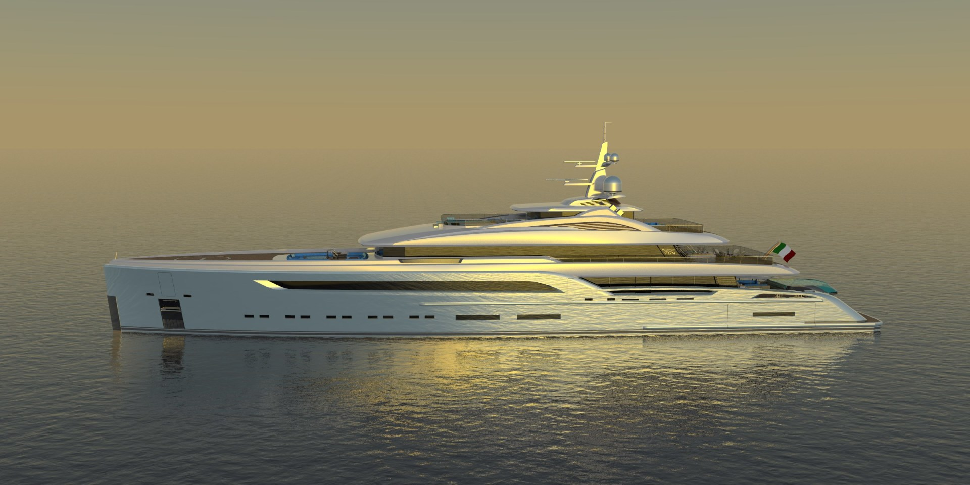 Picture Of a 2023 Custom 230 Preferred Builder - Fincantieri Yachts Motor Yachts | 1132205