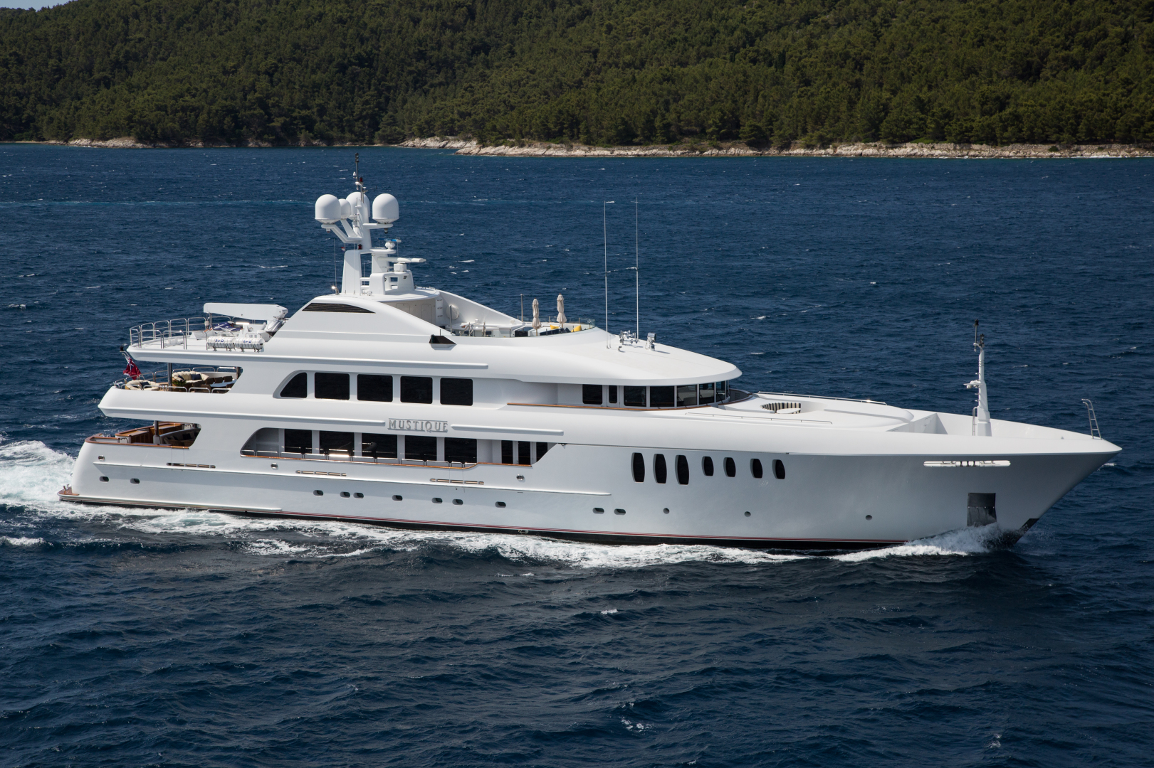 "2005 Trinity Yachts 180'  ""MUSTIQUE"""