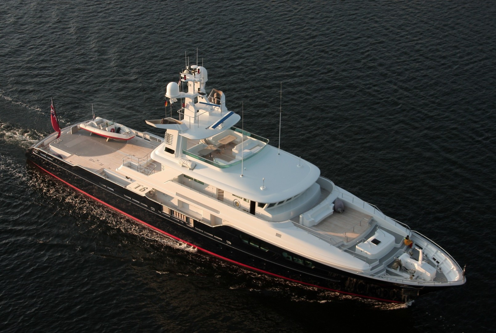 Custom-Flyghtship Motor Yacht 2007-T6 West Palm Beach-Florida-United States-Aerial Profile-1137148 | Thumbnail