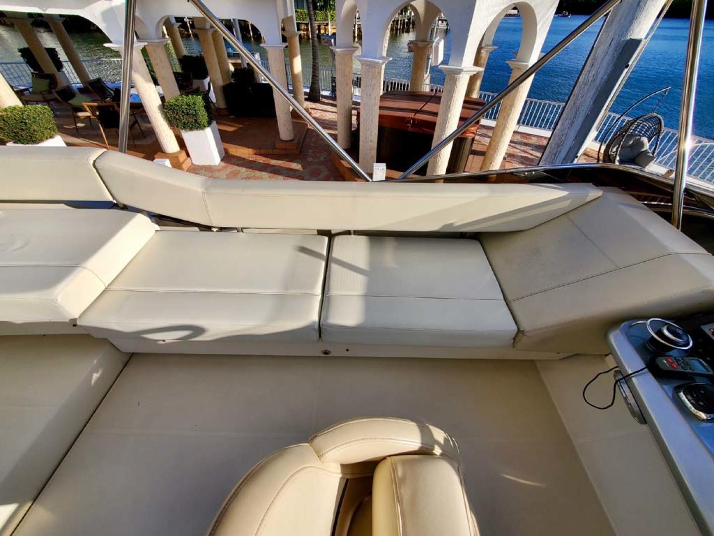 Marquis-500 Sport Bridge 2011-Helen Sunny Isles Beach-Florida-United States-Flybridge Seating-1146729 | Thumbnail