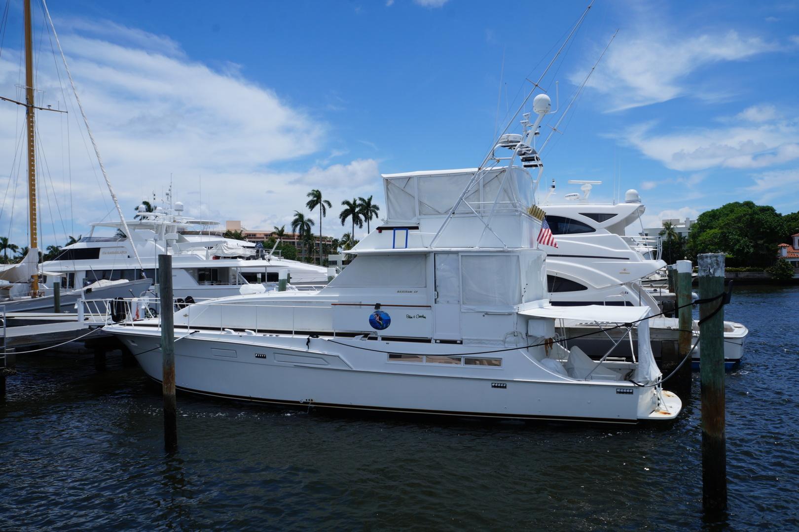54' 1976 Bertram Motor Yacht   Tampa Yacht Sales
