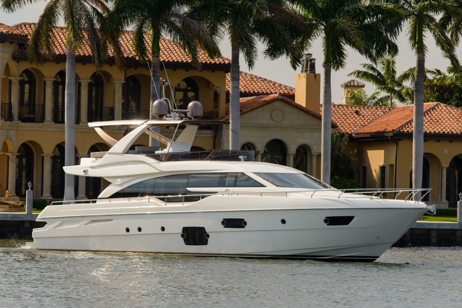 Blue Abalone is a Ferretti Yachts 690 Yacht For Sale in Cancun--0