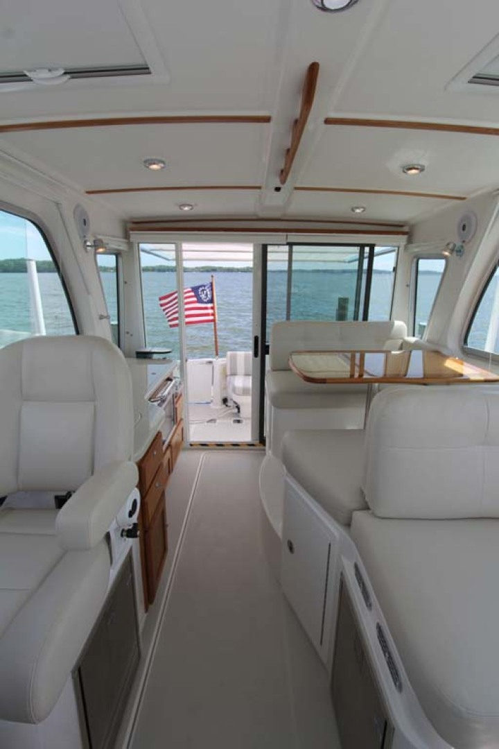 Back Cove-34 2015-Blue Chip Arnold-Maryland-United States-Helm Aft View-1152196 | Thumbnail