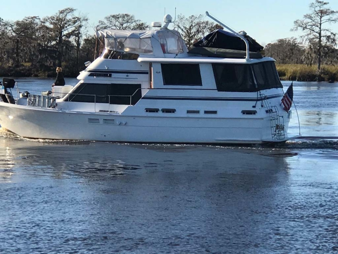 Gulfstar-Motor Yacht 1987-Philos Palm Coast-Florida-United States-Port Running View-1345088 | Thumbnail
