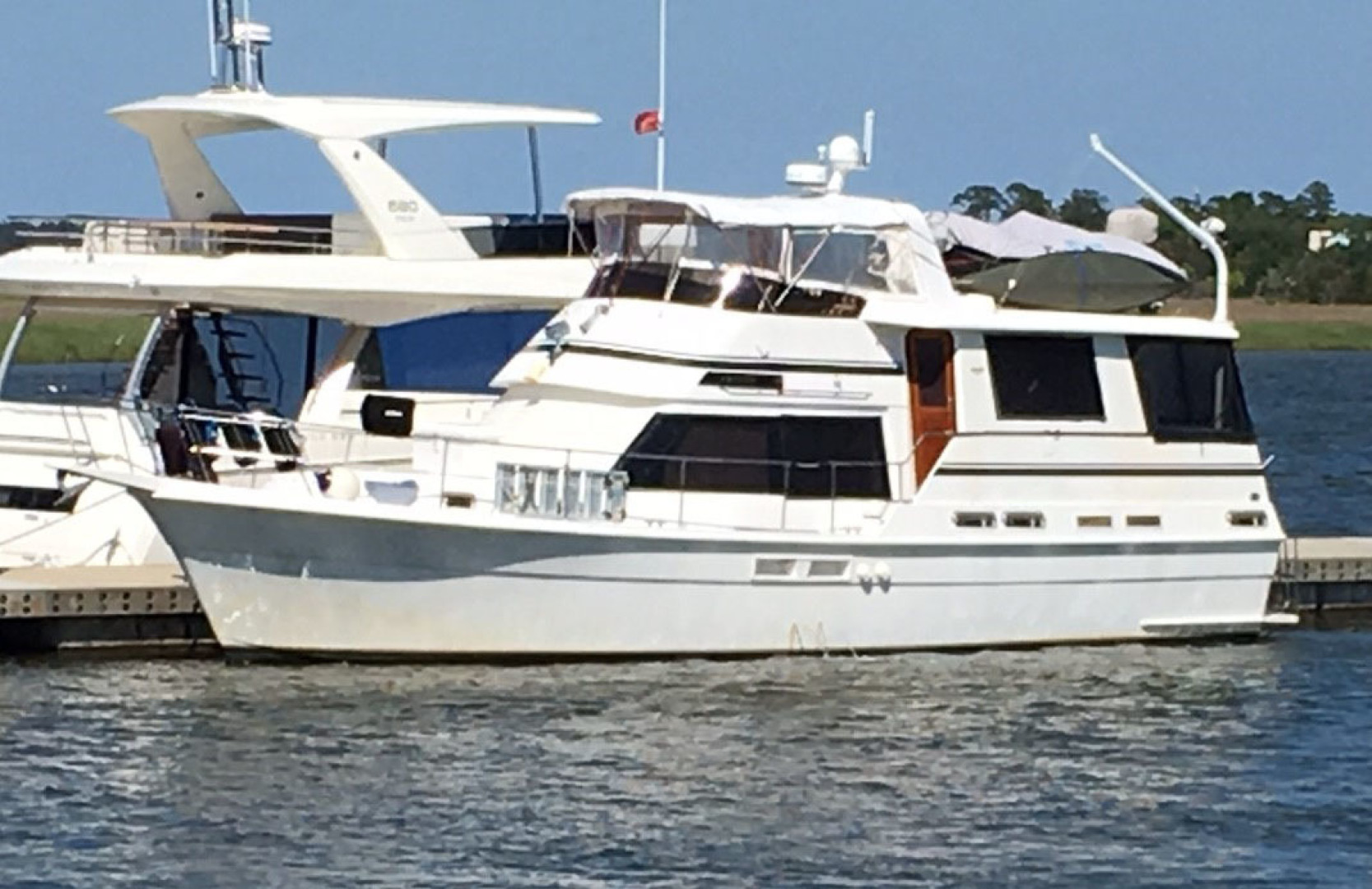 Gulfstar-Motor Yacht 1987-Philos Palm Coast-Florida-United States-Profile-1345026 | Thumbnail