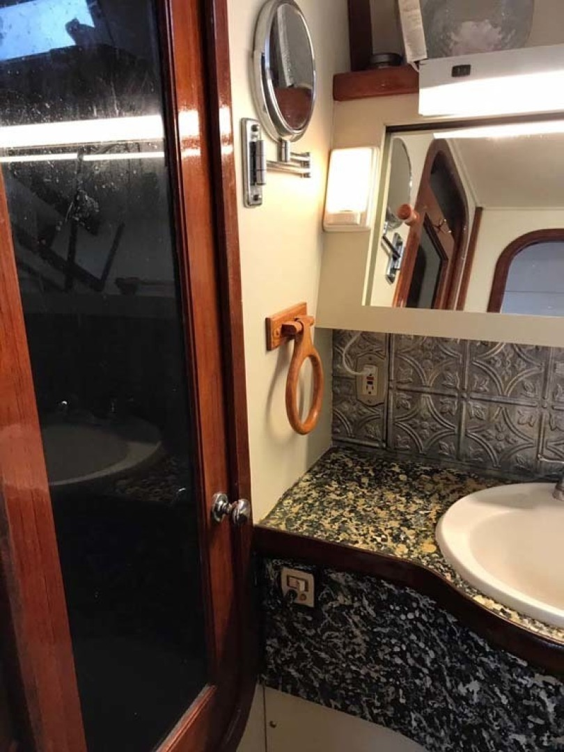 Gulfstar-Motor Yacht 1987-Philos Palm Coast-Florida-United States-Shower and Head-1345042 | Thumbnail