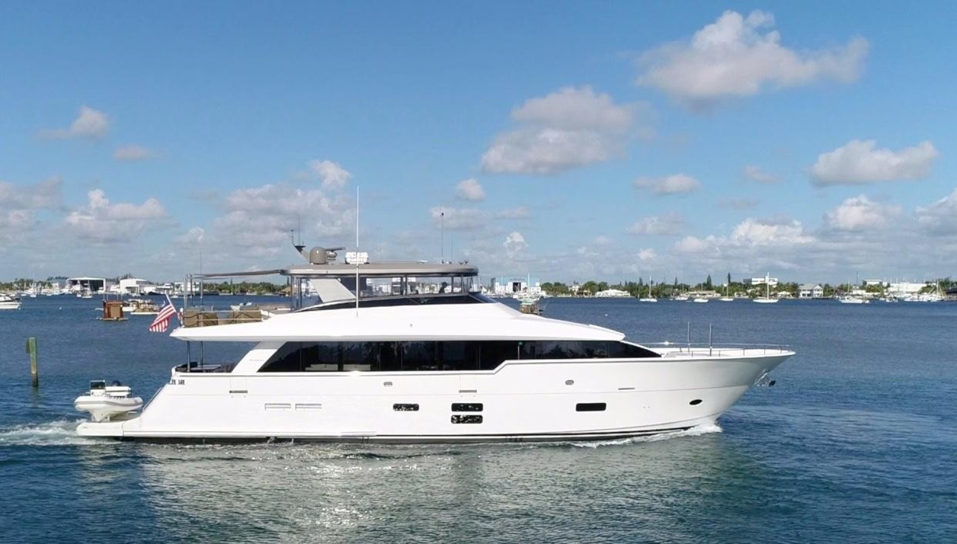Picture Of: 97' Hatteras M90 2018 Yacht For Sale | 2 of 110