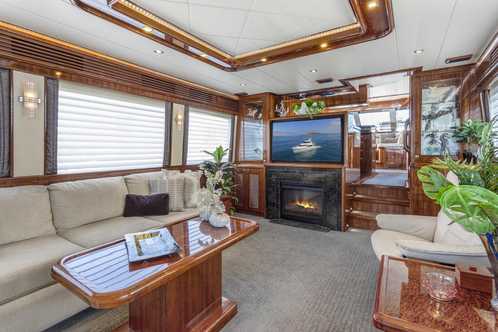 Hampton-76 Skylounge Motoryacht 2014-ODYSEA San Diego-California-United States-SALON-1165150 | Thumbnail