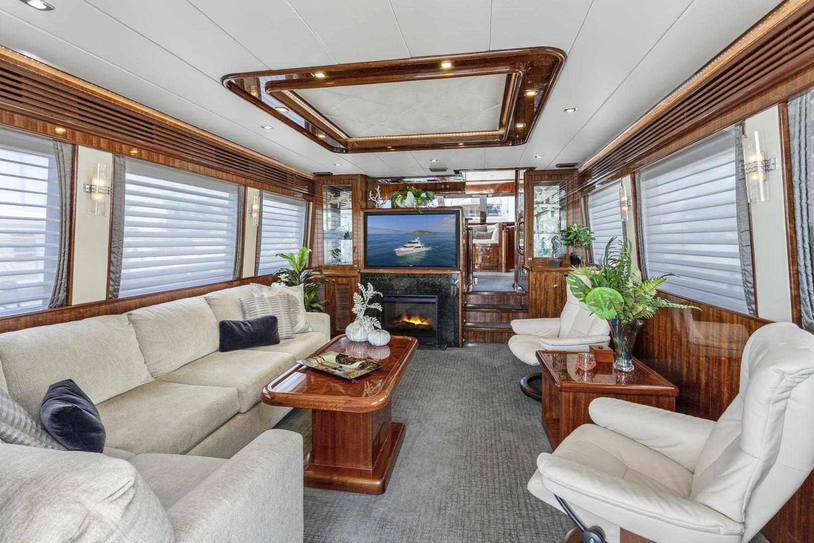 Hampton-76 Skylounge Motoryacht 2014-ODYSEA San Diego-California-United States-SALON-1165152 | Thumbnail
