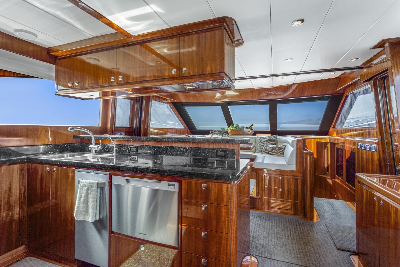 Hampton-76 Skylounge Motoryacht 2014-ODYSEA San Diego-California-United States-GALLEY-1165157 | Thumbnail
