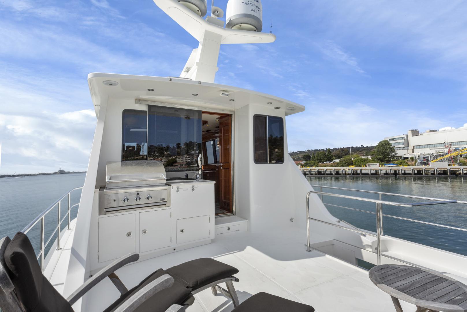 Hampton-76 Skylounge Motoryacht 2014-ODYSEA San Diego-California-United States-BRIDGE DECK-1165186 | Thumbnail