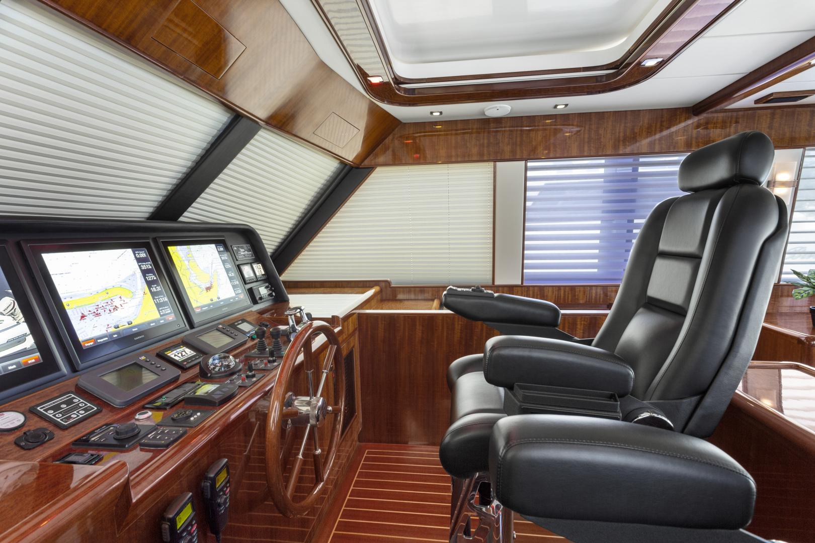 Hampton-76 Skylounge Motoryacht 2014-ODYSEA San Diego-California-United States-PILOTHOUSE-1165146 | Thumbnail