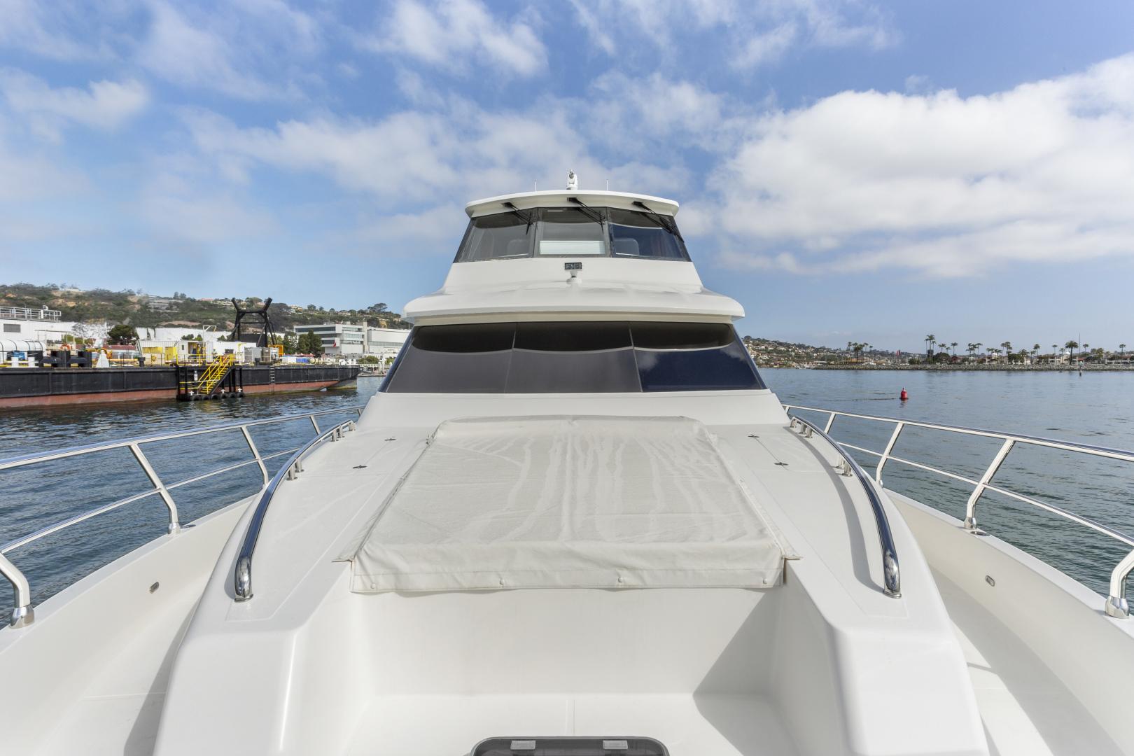 Hampton-76 Skylounge Motoryacht 2014-ODYSEA San Diego-California-United States-BOW-1165188 | Thumbnail