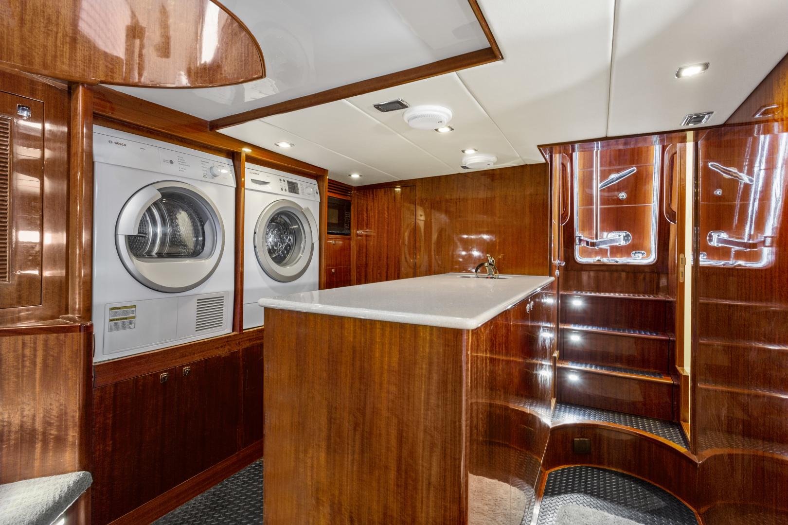Hampton-76 Skylounge Motoryacht 2014-ODYSEA San Diego-California-United States-UTILITY ROOM-1165175 | Thumbnail