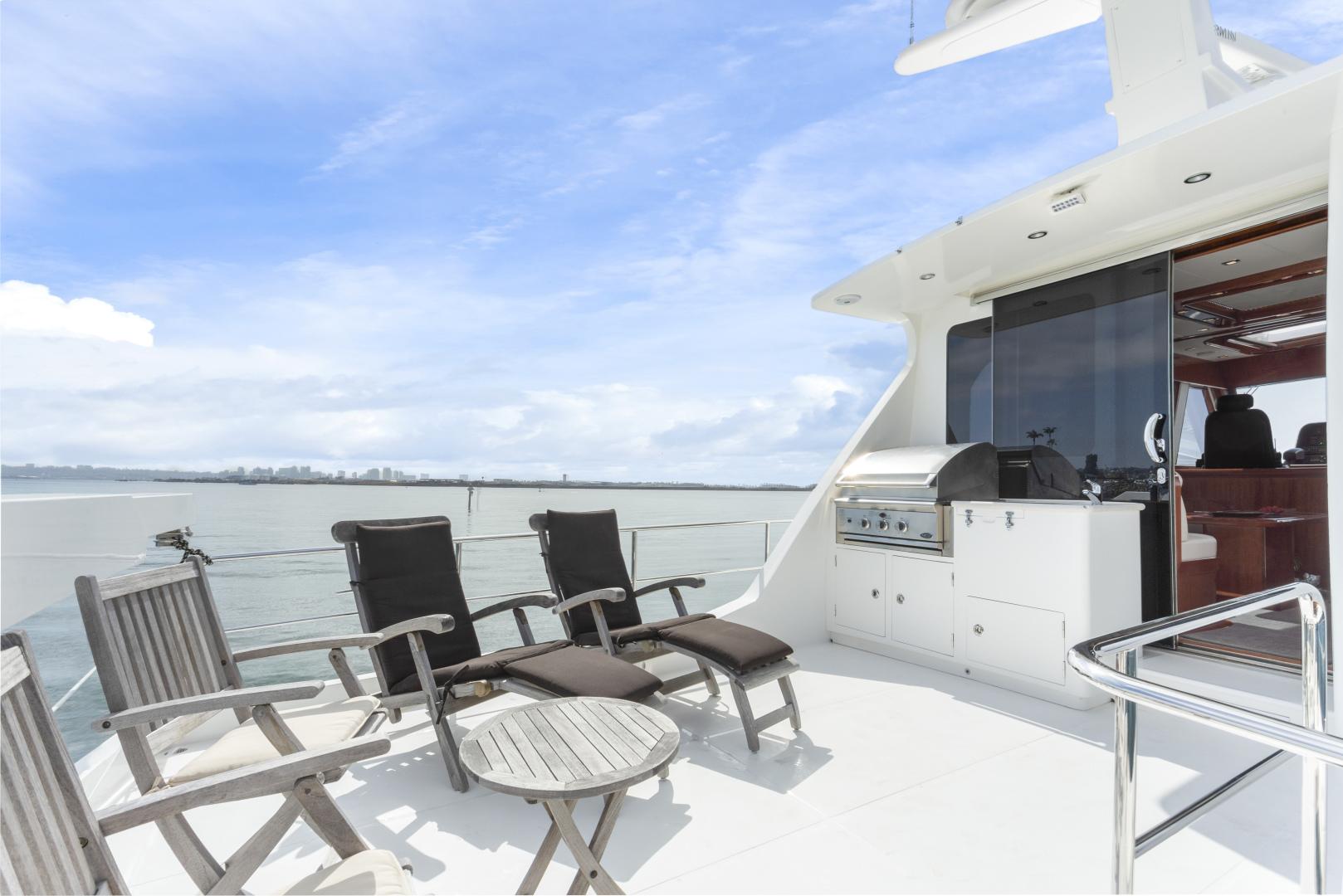 Hampton-76 Skylounge Motoryacht 2014-ODYSEA San Diego-California-United States-BRIDGE DECK-1165184 | Thumbnail