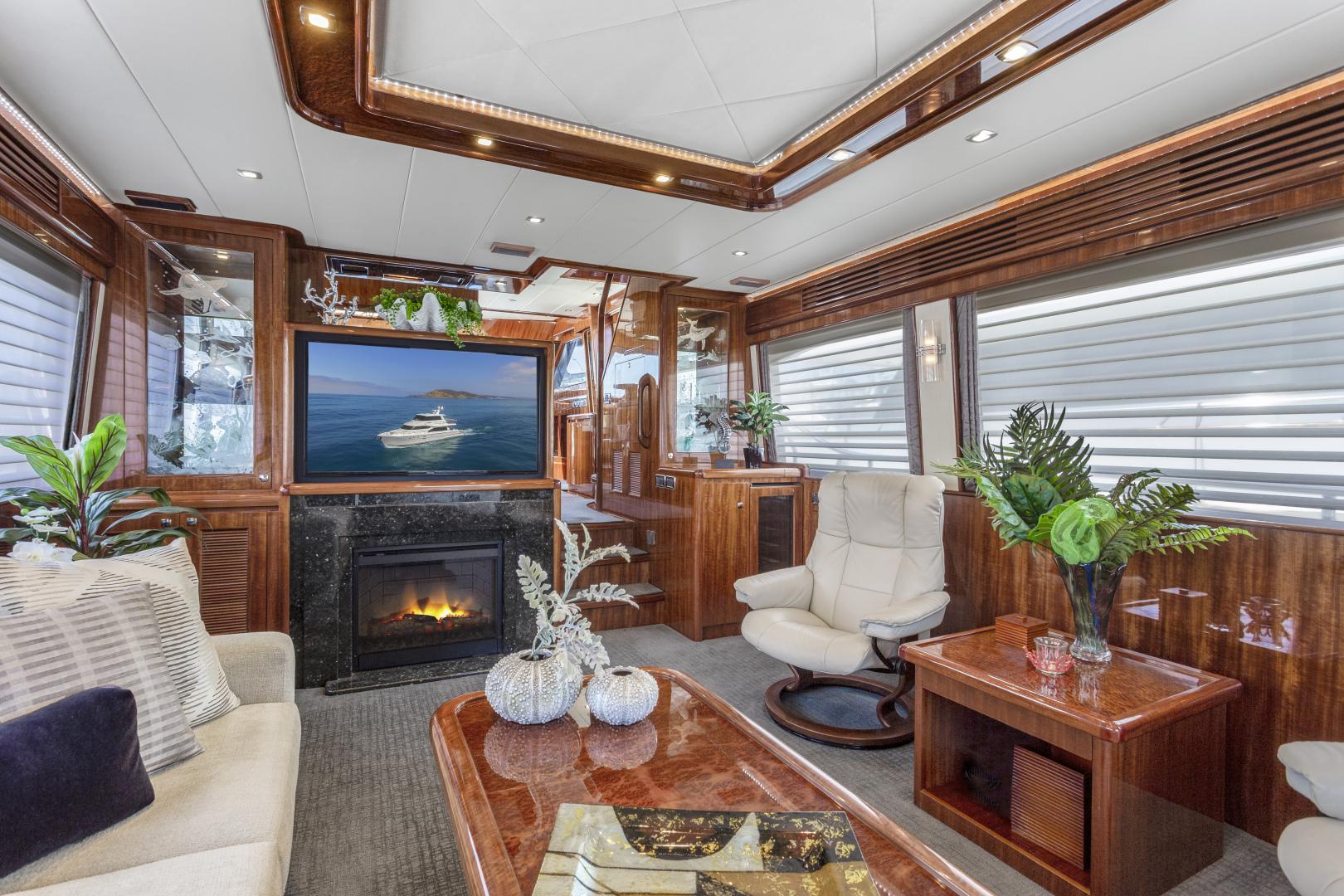 Hampton-76 Skylounge Motoryacht 2014-ODYSEA San Diego-California-United States-SALON-1165149 | Thumbnail