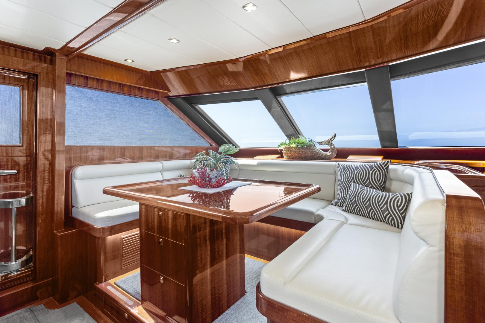 Hampton-76 Skylounge Motoryacht 2014-ODYSEA San Diego-California-United States-DINETTE-1165159 | Thumbnail