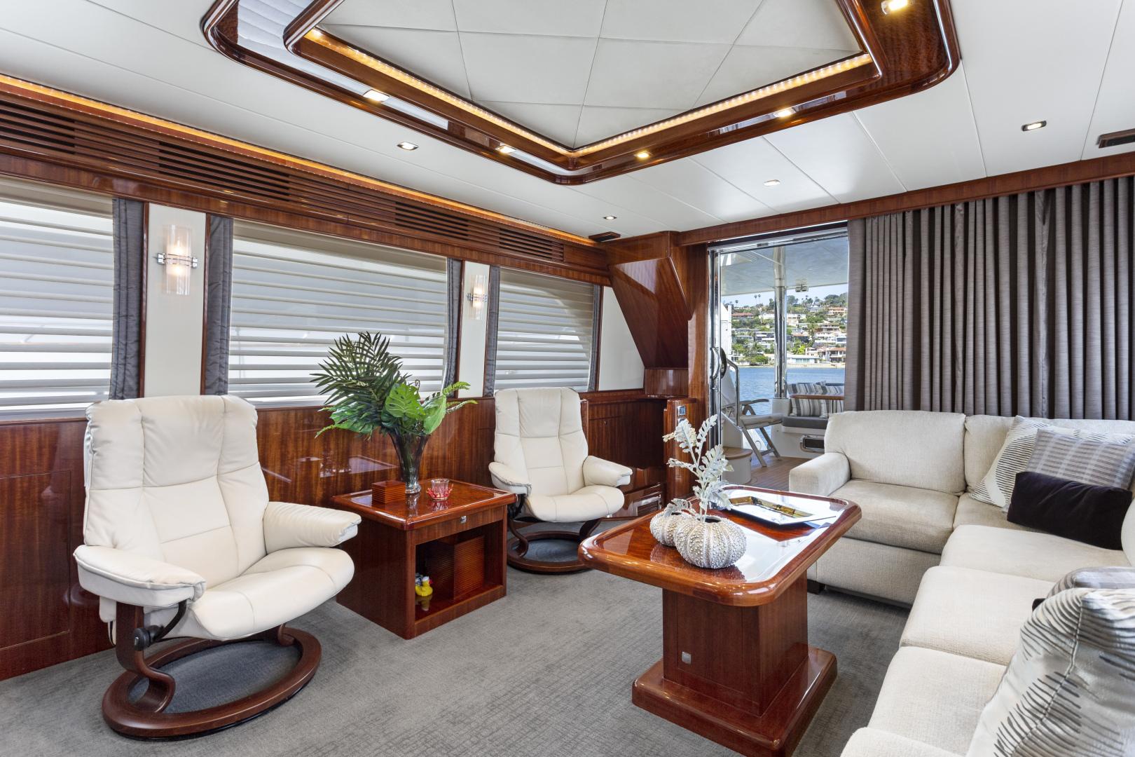 Hampton-76 Skylounge Motoryacht 2014-ODYSEA San Diego-California-United States-SALON-1165153 | Thumbnail