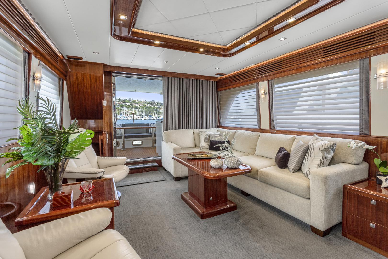 Hampton-76 Skylounge Motoryacht 2014-ODYSEA San Diego-California-United States-SALON-1165154 | Thumbnail