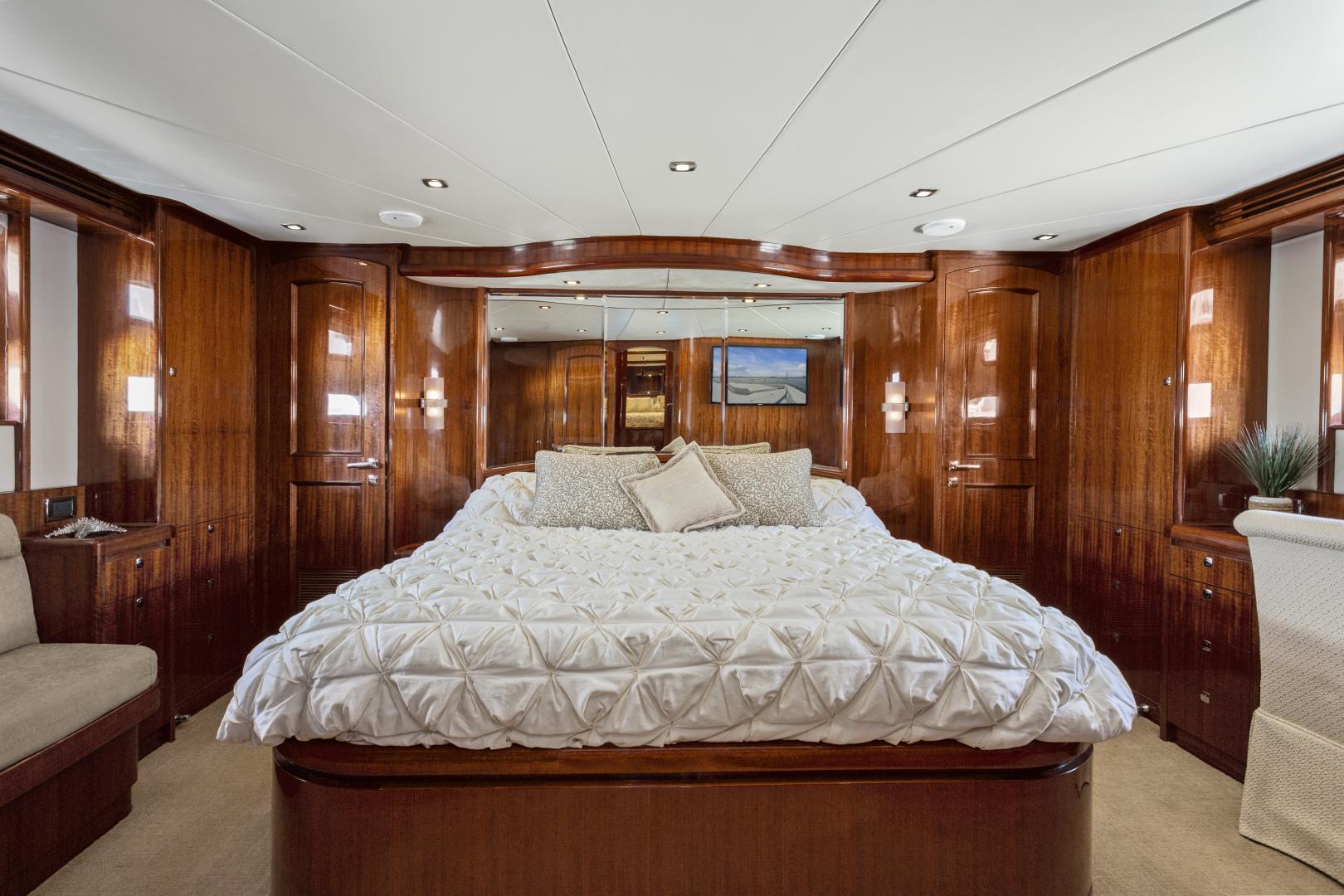 Hampton-76 Skylounge Motoryacht 2014-ODYSEA San Diego-California-United States-MASTER STATEROOM-1165163 | Thumbnail