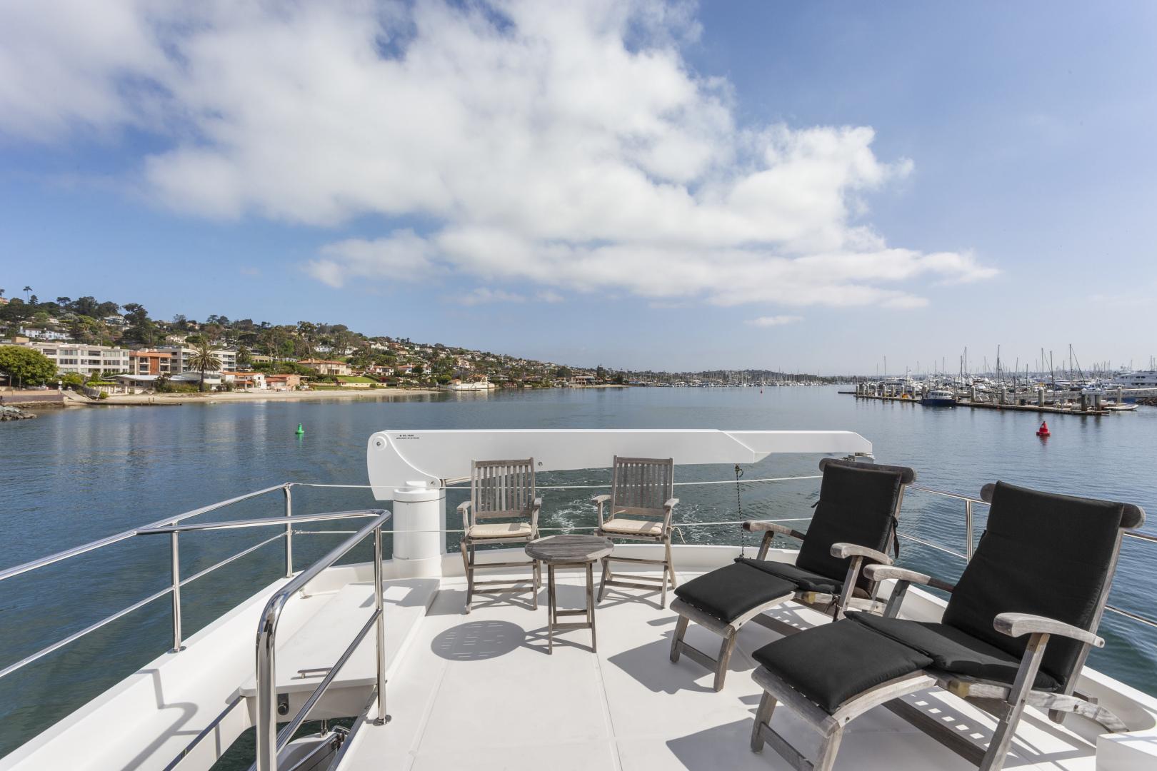 Hampton-76 Skylounge Motoryacht 2014-ODYSEA San Diego-California-United States-BRIDGE DECK-1165185 | Thumbnail