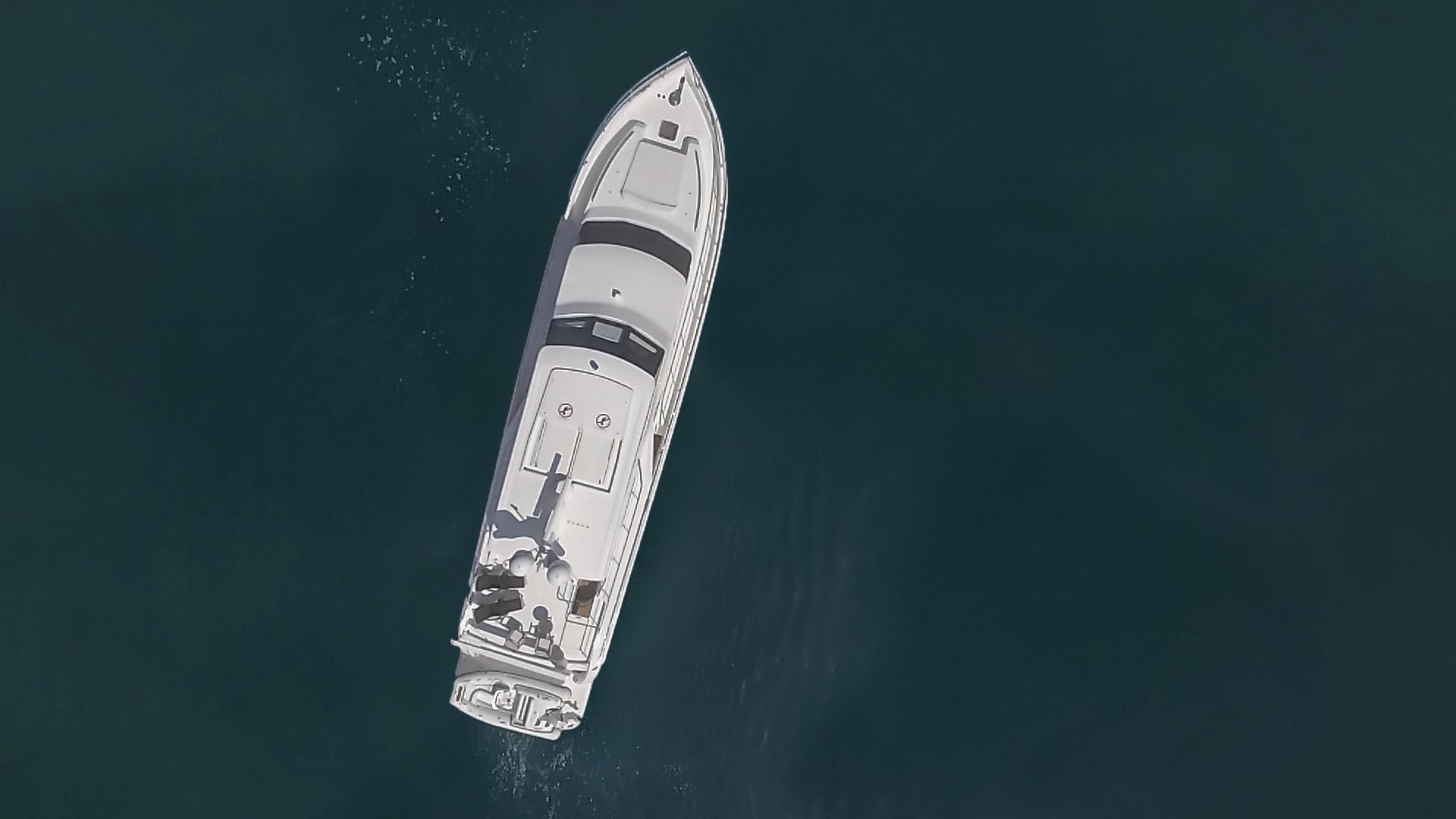 Hampton-76 Skylounge Motoryacht 2014-ODYSEA San Diego-California-United States-EXTERIOR-1165197 | Thumbnail