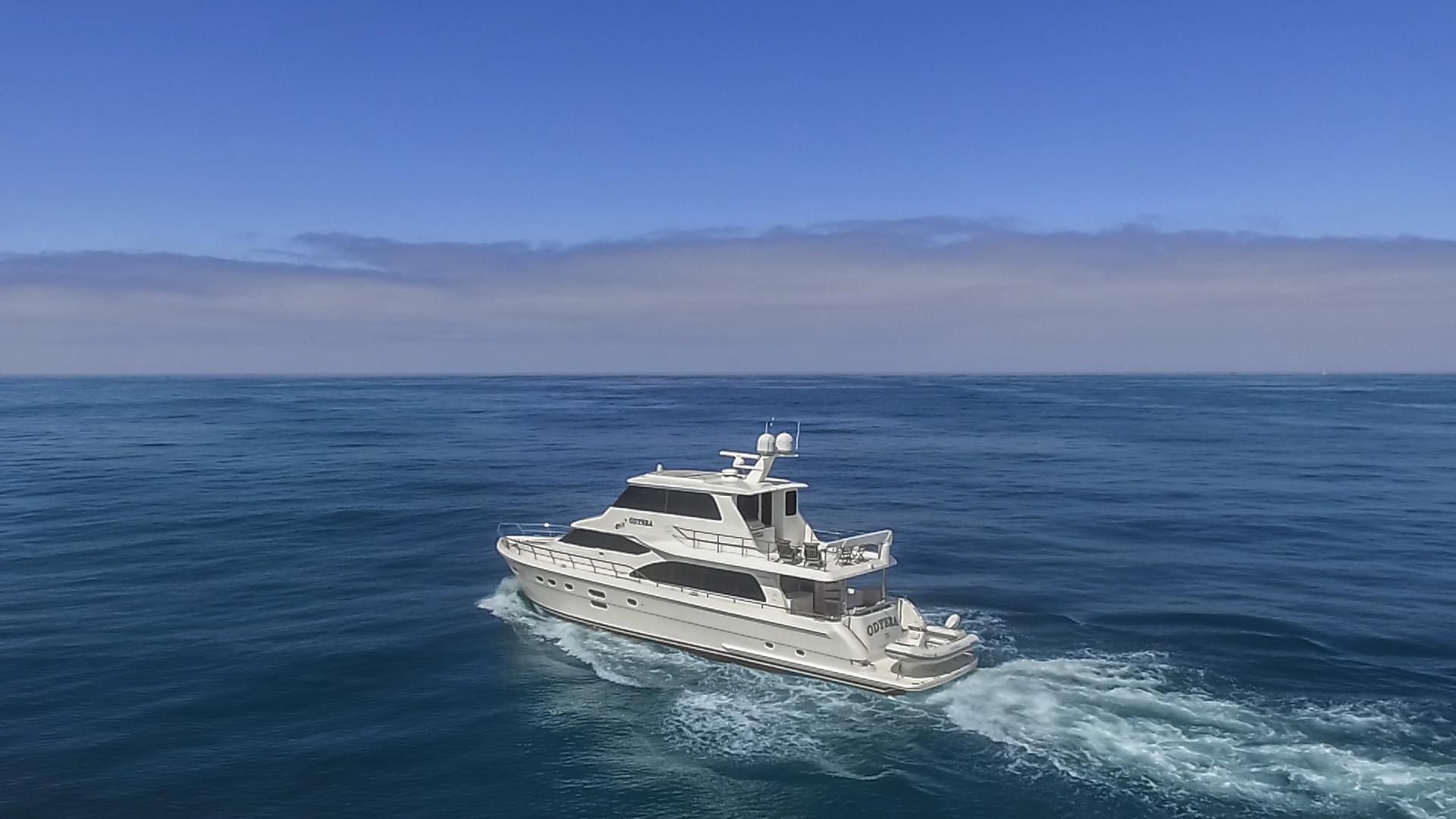 Hampton-76 Skylounge Motoryacht 2014-ODYSEA San Diego-California-United States-EXTERIOR-1165196 | Thumbnail