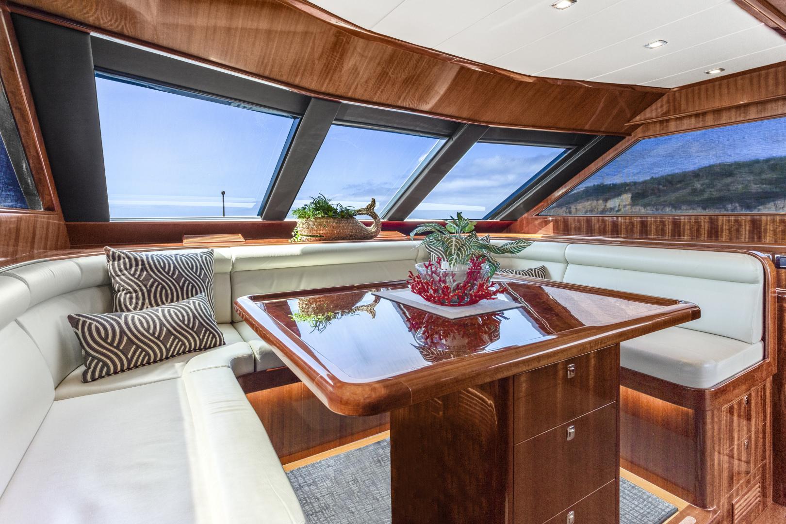 Hampton-76 Skylounge Motoryacht 2014-ODYSEA San Diego-California-United States-DINETTE-1165160 | Thumbnail