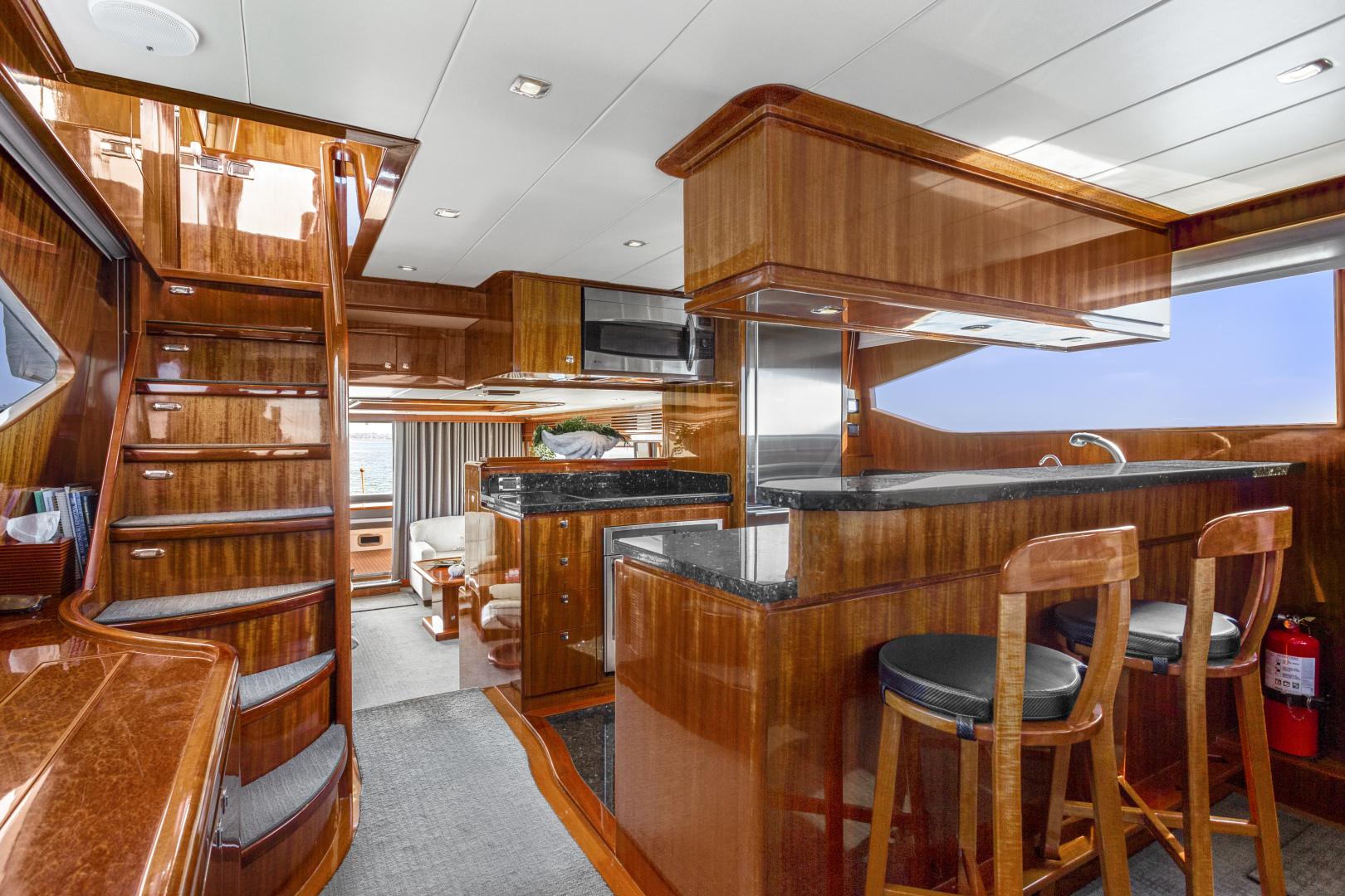 Hampton-76 Skylounge Motoryacht 2014-ODYSEA San Diego-California-United States-GALLEY-1165158 | Thumbnail